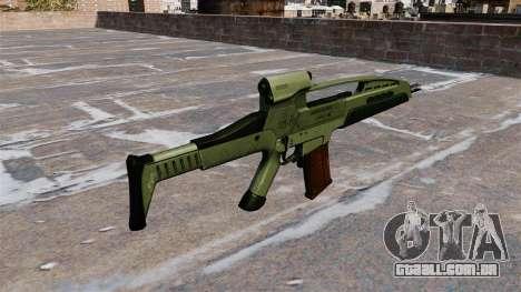 Fuzil de assalto HK XM8 para GTA 4 segundo screenshot