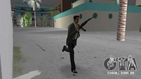 Kalashnikov para GTA Vice City terceira tela