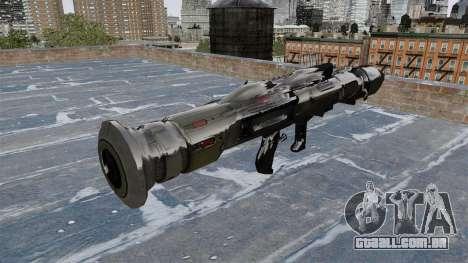 Lançador de granadas anti-tanque Crysis 2 para GTA 4 segundo screenshot