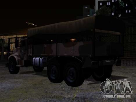 GTA V Barracks OL para GTA San Andreas esquerda vista