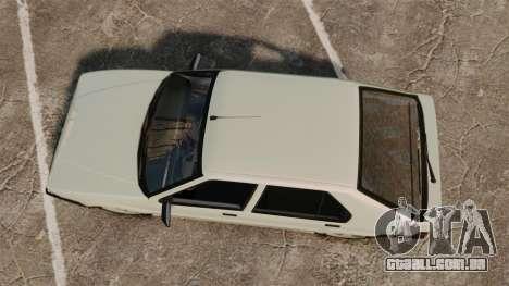 Renault 19 Europa para GTA 4 vista direita