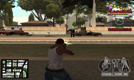 C-Hud Getto Tawer para GTA San Andreas segunda tela