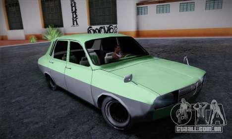Dacia 1300 Retro Art para GTA San Andreas esquerda vista