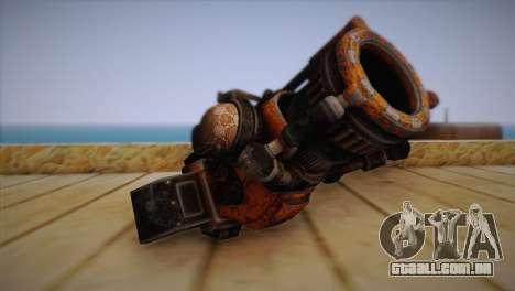 Espingarda de Bulletstorm para GTA San Andreas segunda tela