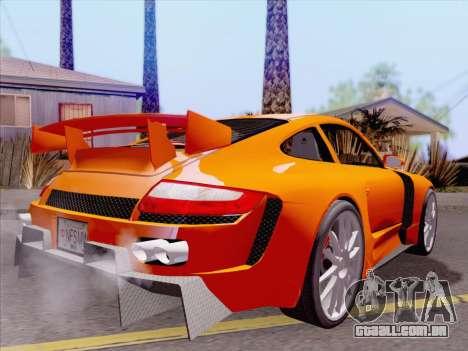 Porsche Carrera S para o motor de GTA San Andreas
