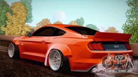 Ford Mustang Rocket Bunny 2015 para GTA San Andreas vista direita
