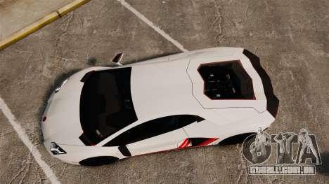 Lamborghini Aventador LP700-4 2012 [EPM] Lamotte para GTA 4 vista direita