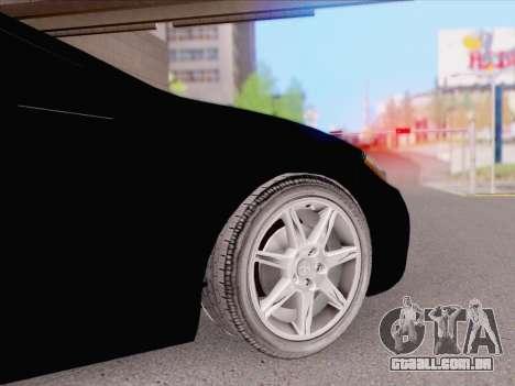 Mitsubishi Eclipse v4 para GTA San Andreas traseira esquerda vista