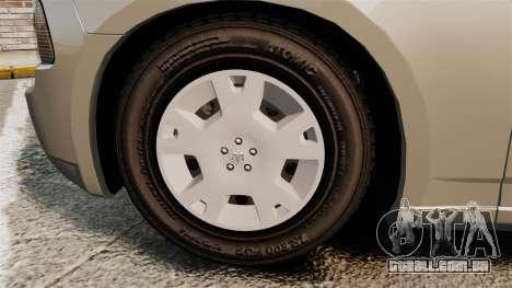 Dodge Charger SE 2006 para GTA 4 vista de volta