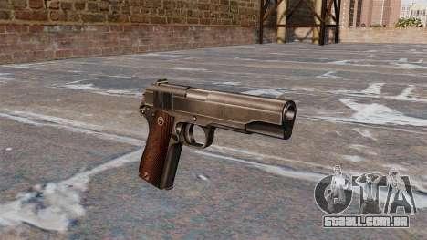 Colt M1911 pistola para GTA 4