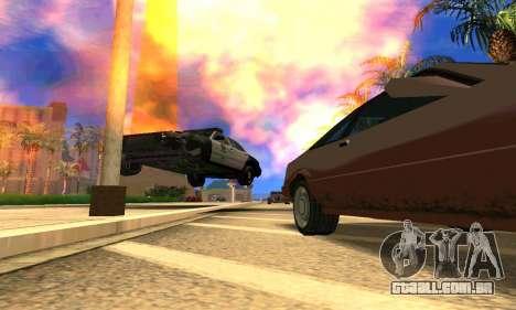 Ford Crown Victoria Police LV para GTA San Andreas vista interior