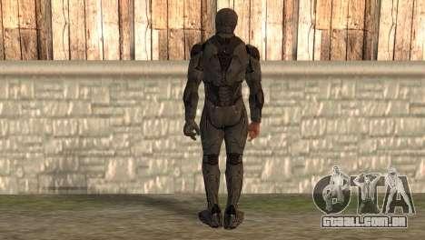 Robocop 2014 Movie Version para GTA San Andreas segunda tela