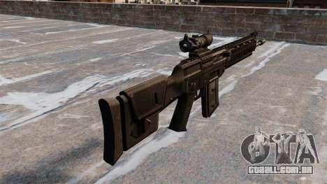 Espingarda automática SIG SG 751 para GTA 4 segundo screenshot