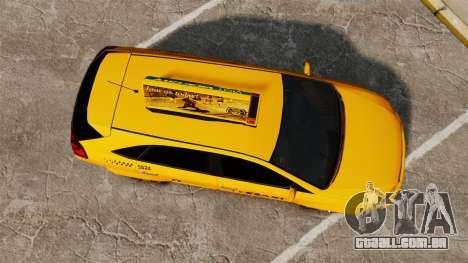 Habanero Taxi para GTA 4 vista direita