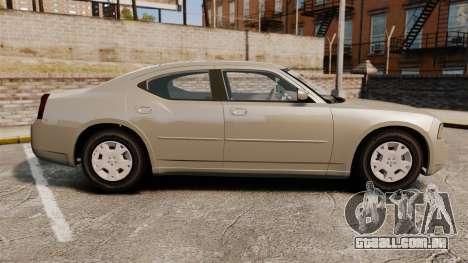 Dodge Charger SE 2006 para GTA 4 esquerda vista