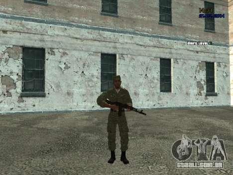 Lutador no ar para GTA San Andreas segunda tela
