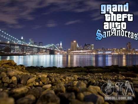 Loadscreens New-York para GTA San Andreas décimo tela