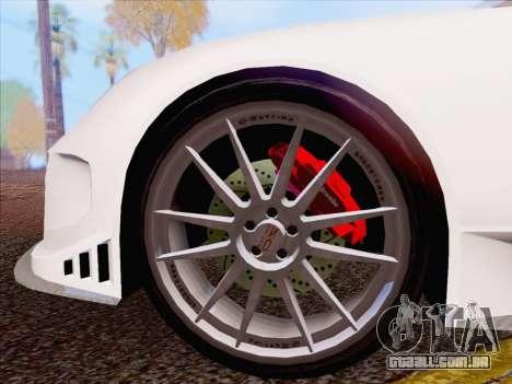Porsche Carrera S para GTA San Andreas esquerda vista