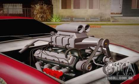 Elegy Frankinshtain para GTA San Andreas traseira esquerda vista