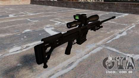 Rifle Barret 98B para GTA 4 segundo screenshot
