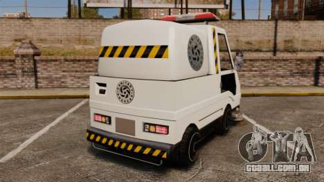 GTA SA Washer para GTA 4 traseira esquerda vista