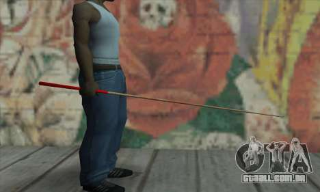 New Pool Cue para GTA San Andreas segunda tela
