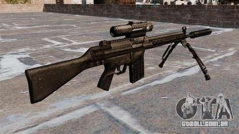 Espingarda automática HK G3 para GTA 4 segundo screenshot