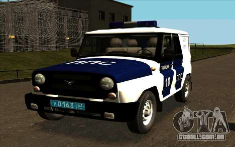 UAZ Hunter PPP para vista lateral GTA San Andreas