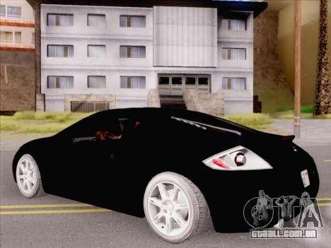 Mitsubishi Eclipse v4 para GTA San Andreas vista direita