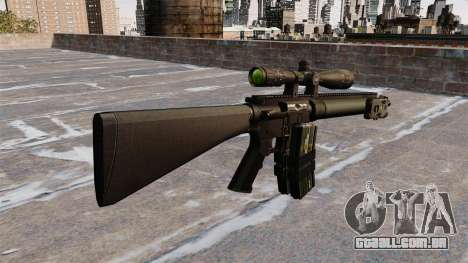 Rifle sniper Mk 12 para GTA 4 segundo screenshot