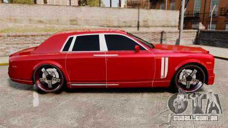 Rolls-Royce Phantom Mansory para GTA 4 esquerda vista