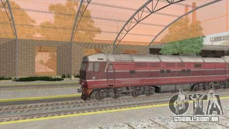 Estação de caminhos de ferro em San Fierro para GTA San Andreas segunda tela