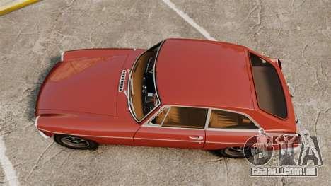 MG MGB GT 1965 para GTA 4 vista direita