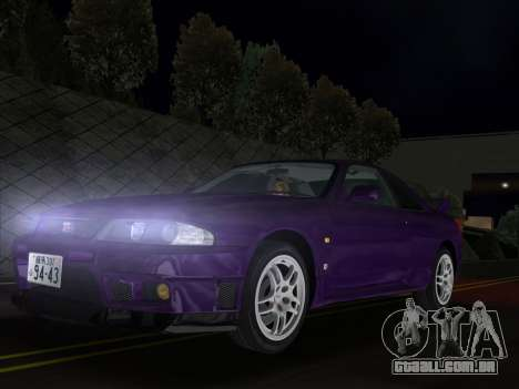 Nissan SKyline GT-R BNR33 para GTA Vice City
