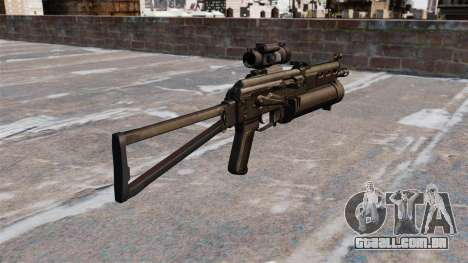 Submetralhadora pp-19 Bizon para GTA 4 segundo screenshot