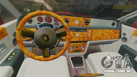 Rolls-Royce Phantom Mansory para GTA 4 vista lateral