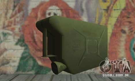 Vasilha para GTA San Andreas segunda tela