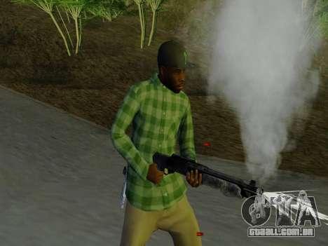 O membro da gangue Grove Street de GTA 5 para GTA San Andreas