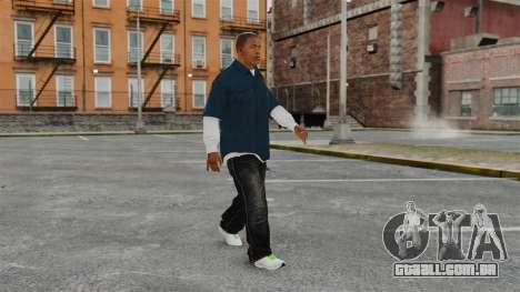 Clinton Franklin para GTA 4 por diante tela