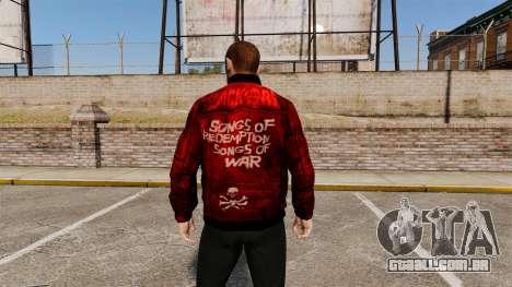 Jaqueta de couro vermelha para GTA 4 segundo screenshot
