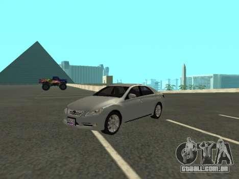 Toyota Mark X para vista lateral GTA San Andreas