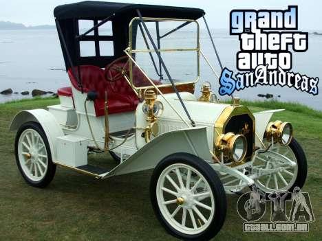 New loadscreen Old Cars para GTA San Andreas oitavo tela