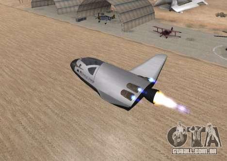 FARSCAPE modul para GTA San Andreas vista interior