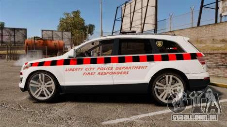 Audi Q7 Enforcer [ELS] para GTA 4 esquerda vista