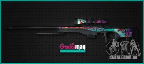 AWP from CS GO Gentleman para GTA San Andreas