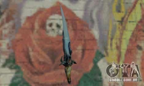 Faca do Príncipe da Pérsia para GTA San Andreas segunda tela