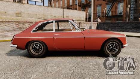 MG MGB GT 1965 para GTA 4 esquerda vista