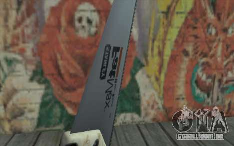 Serra madeira para GTA San Andreas terceira tela