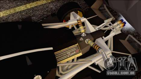 Pagani Zonda R SPS v3.0 Final para GTA San Andreas interior