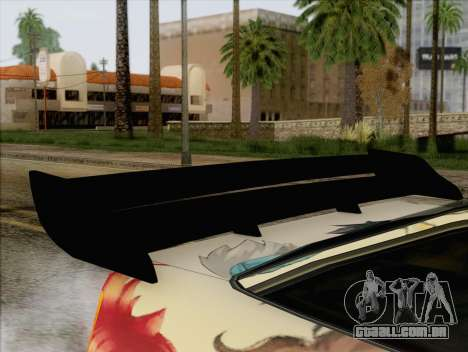 Uranus Grand Chase Texture para GTA San Andreas vista traseira